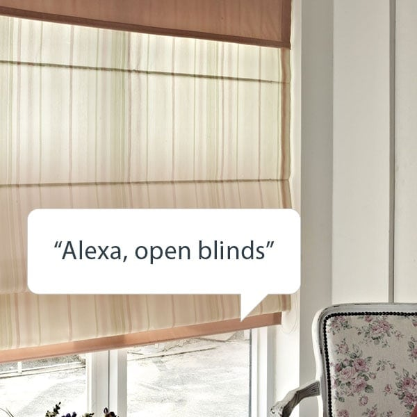 Control your blinds with Alexa