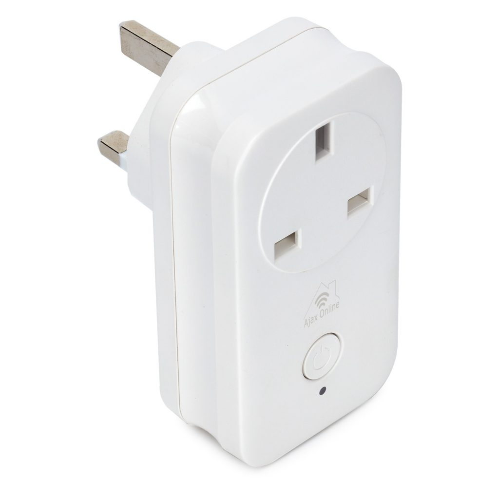 Ajax Online white rectangular Smart Plug