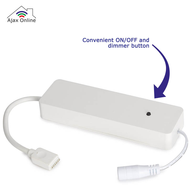 Convenient ON/OFF and dimmer button