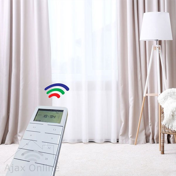 Remote controlling Smart Curtain Track and Motor