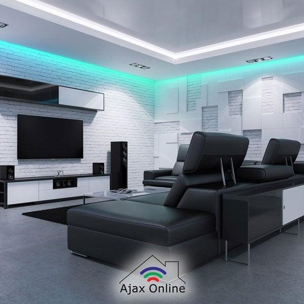 LED Light in living room