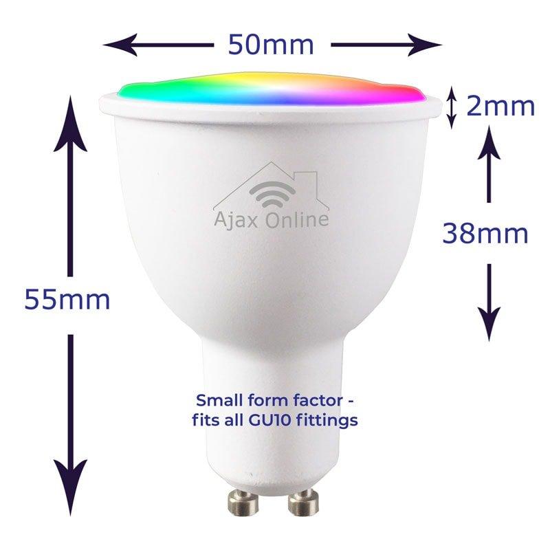 55mm by 50mm Smart LED Bulb