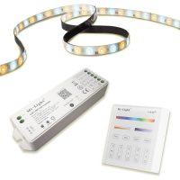 Super Bright 5 in 1 Milight RF+WIFI LED Strip Kit - Control via App or Wall Remote