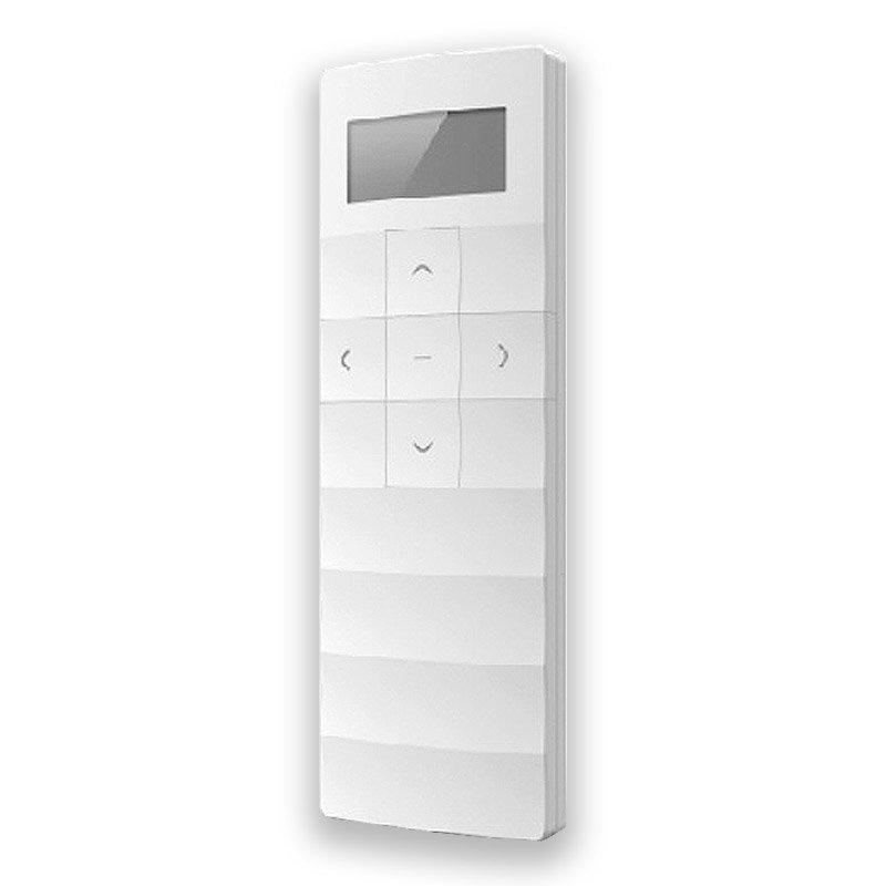 White rectangular LED light controller