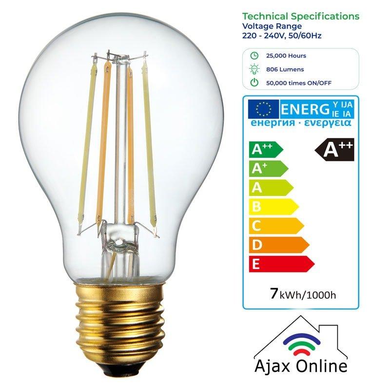 Vintage Smart Bulb, Voltage Range 220-240V