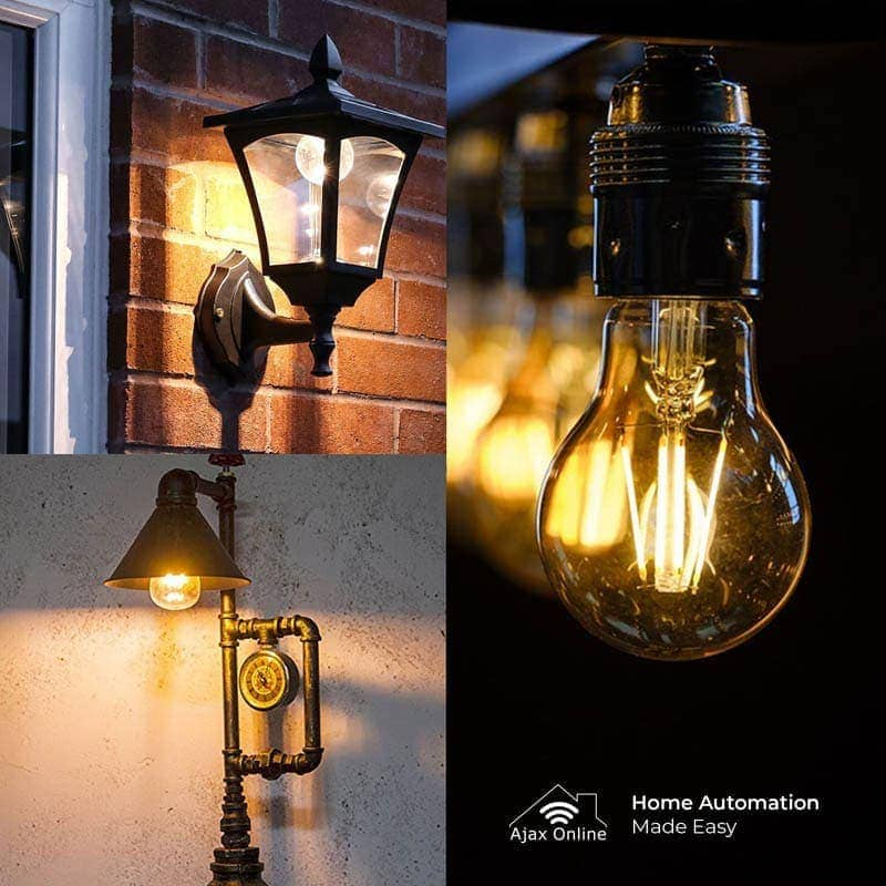 vintage filament lighting