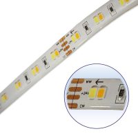 Super Bright 24v Dual Warm and Cool White LED Strip 5m Roll