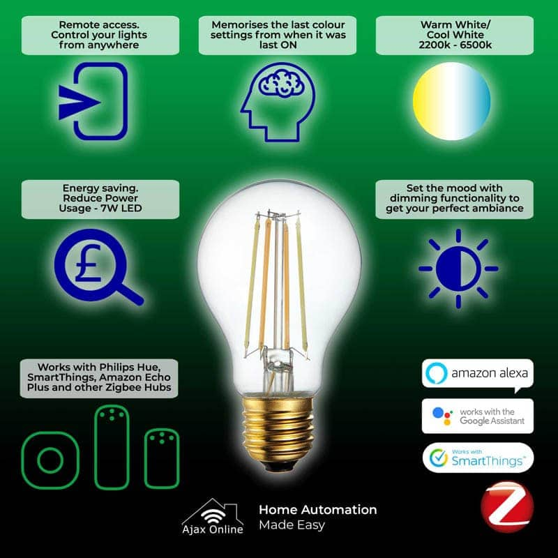 Amazing Features of vintage filament smart bulb