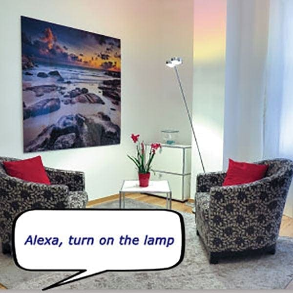 Control your lights with Alexa