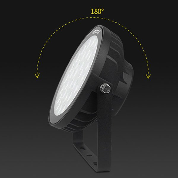 Smart Floodlight with 180 degree rotation