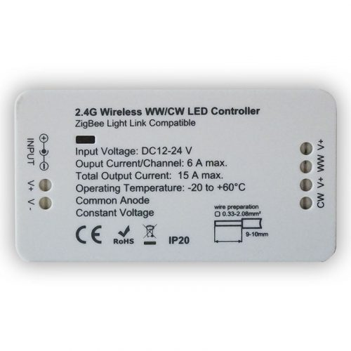 2.4G Wireless WW/WC LED Controller