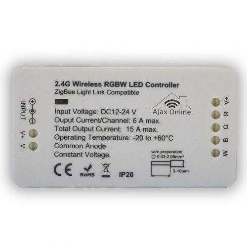 White 2.4G Wireless WW/WC LED Controller
