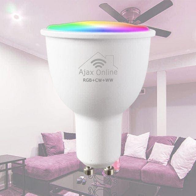 RGB CW WW spotlight bulb