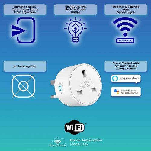 infographics WIFI SmartPlug web