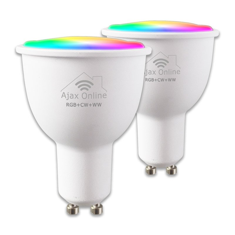 2 Ajax Online Smart bulbs