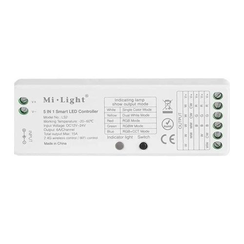 milight 5 in 1 smart led controller
