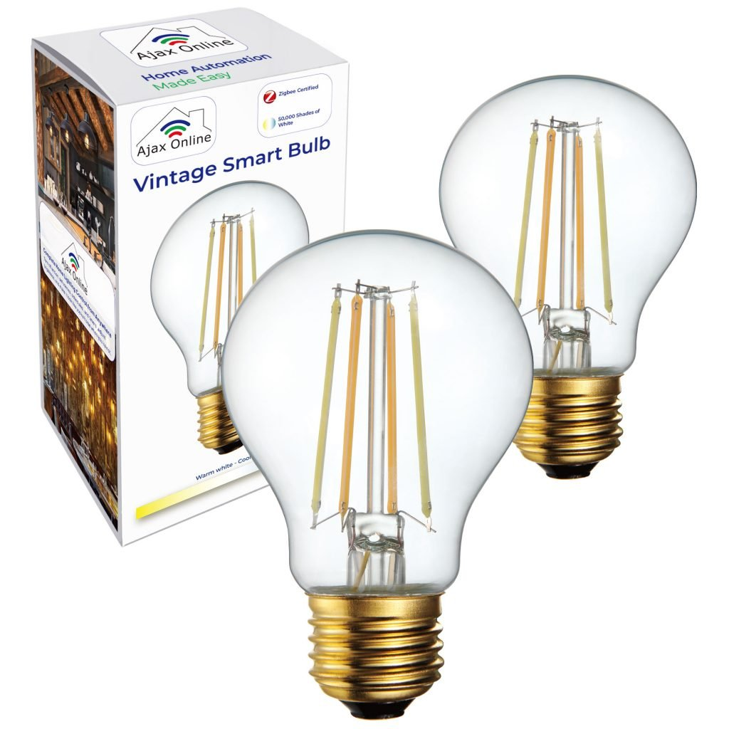 VIntage Zigbee Bulb Main 2PACK