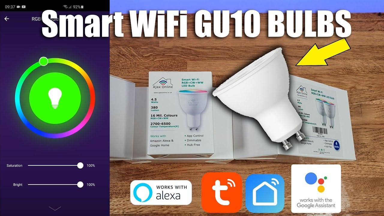 wifi gu10 spotlight review