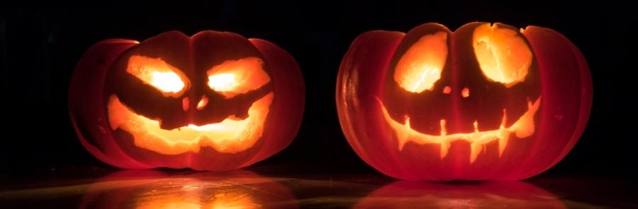 spooky jack o lantern pumpkin lighting