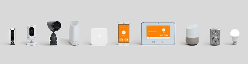 vivint smart home products lineup tight