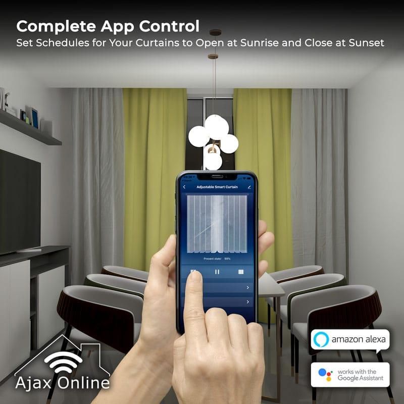 AdjCurtains AppControl web