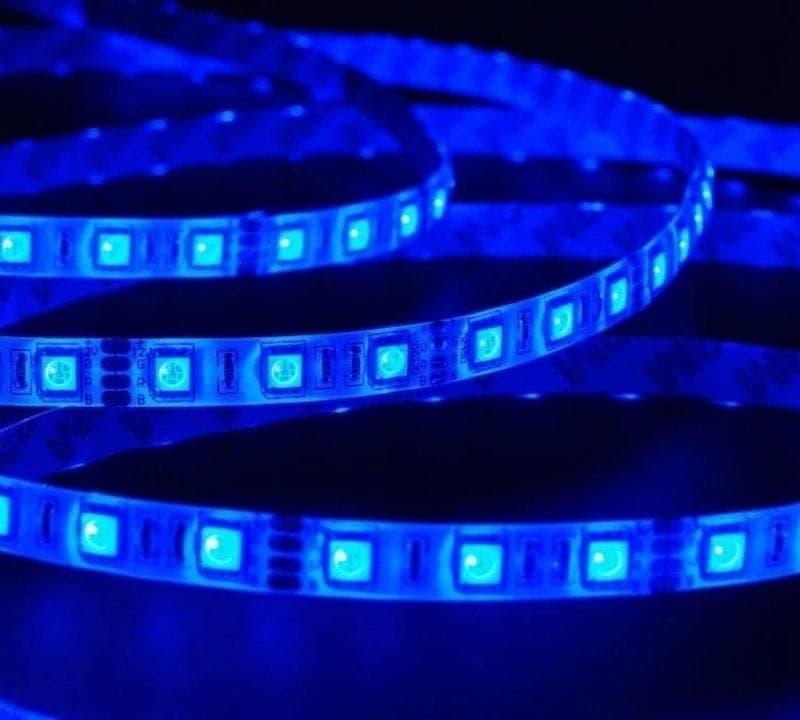 blue strip