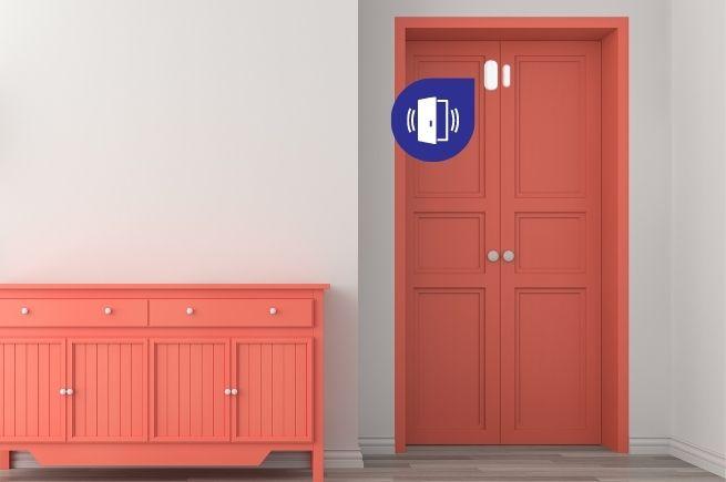 Door sensor Example shot