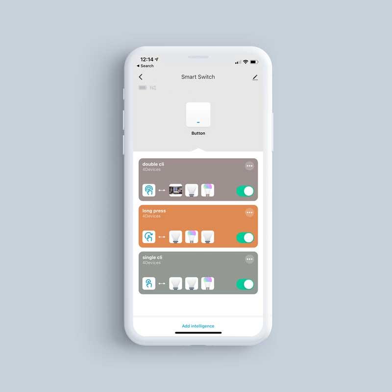 QuickButton PhoneScreenshot