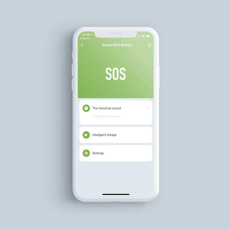 SOSButton PhoneScreenshot