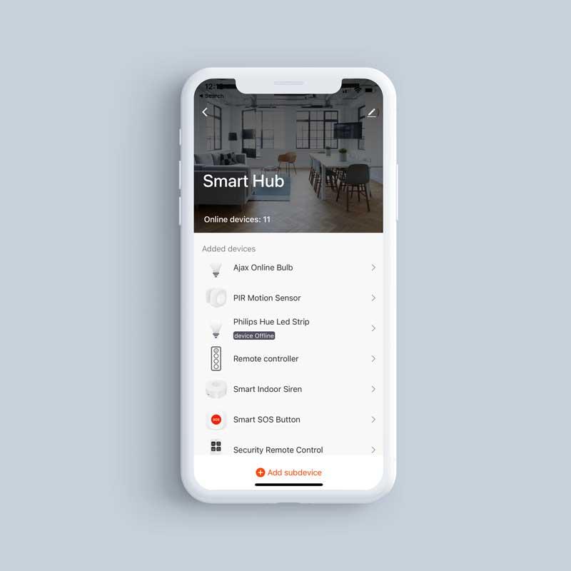 SmartHub PhoneScreenshot