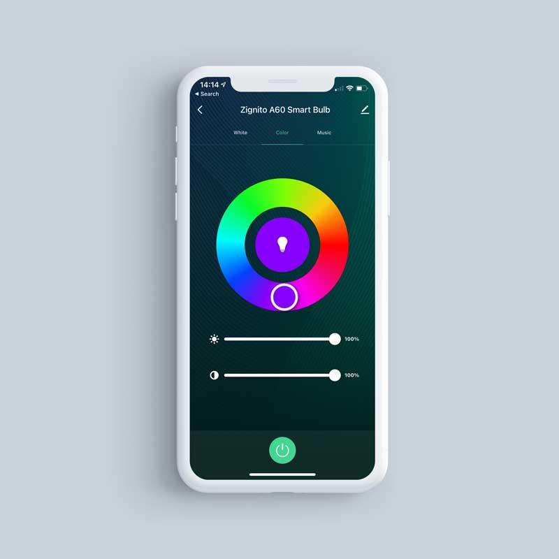 Zignito Bulb App Screenshot