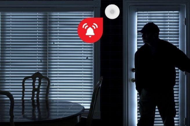 indoor siren security