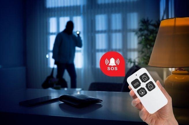 smart remote SOS