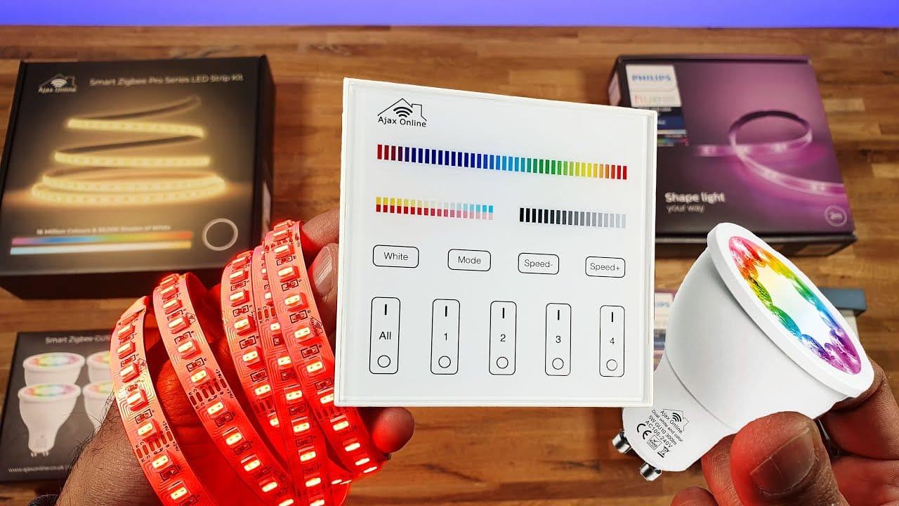 zigbee pro led strip kit review