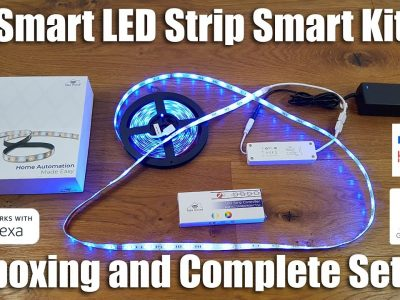 zigbee LED strip Kit review