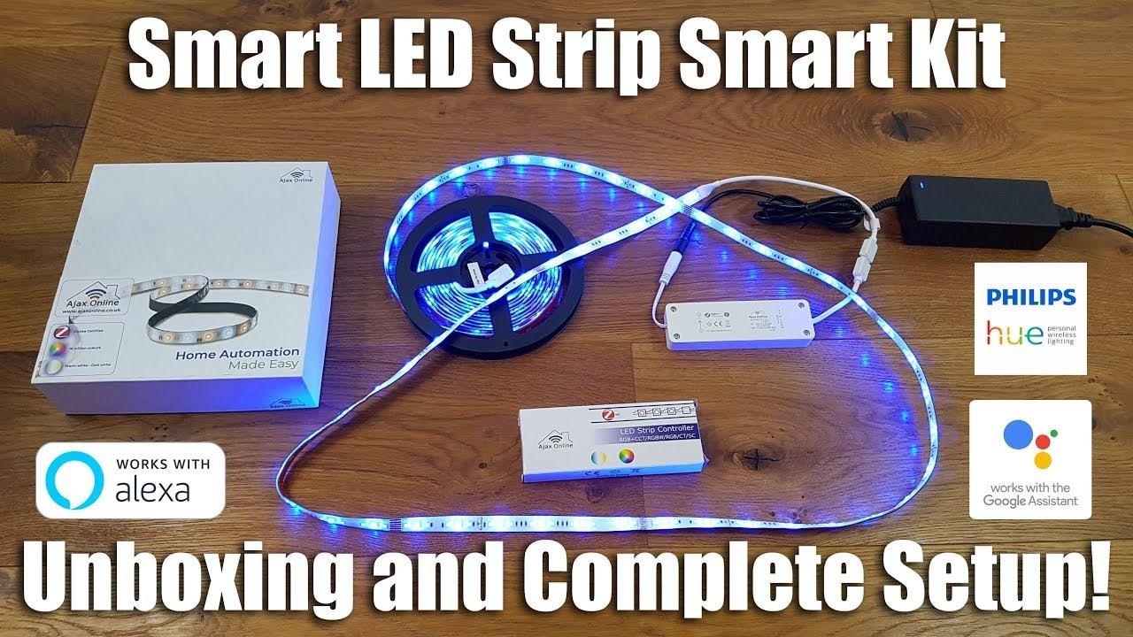 zigbee LED strip Kit review