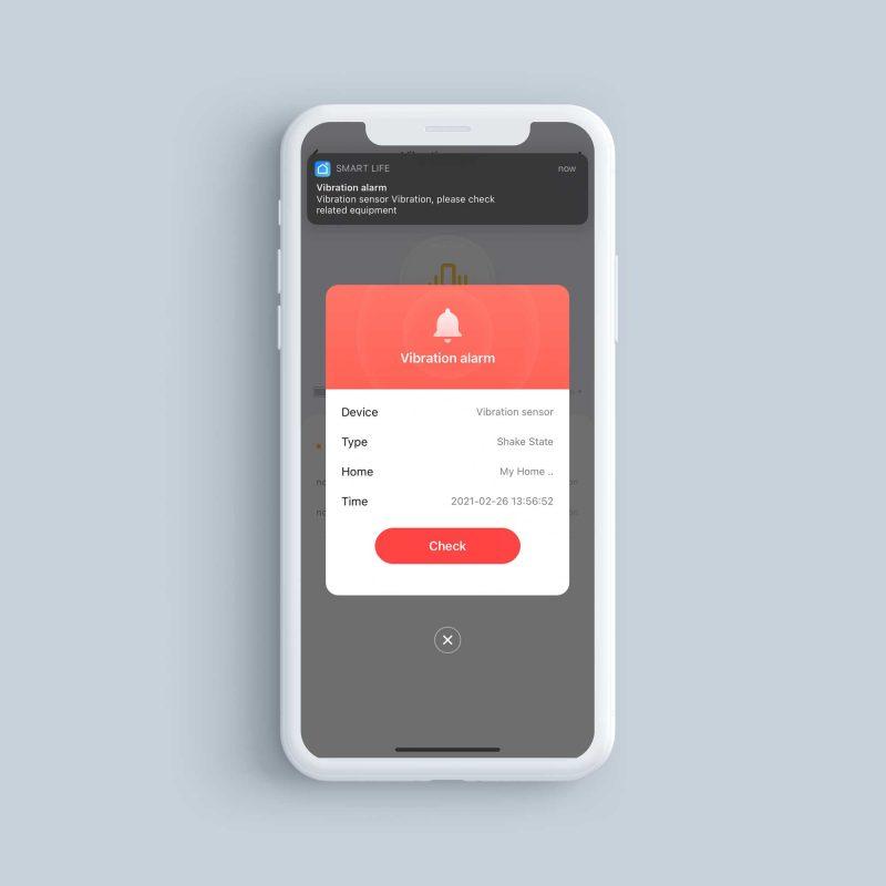 VibrationSensors PhoneScreenshot