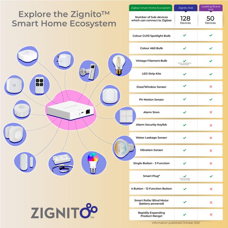 Zignito Ecosystem Comparison