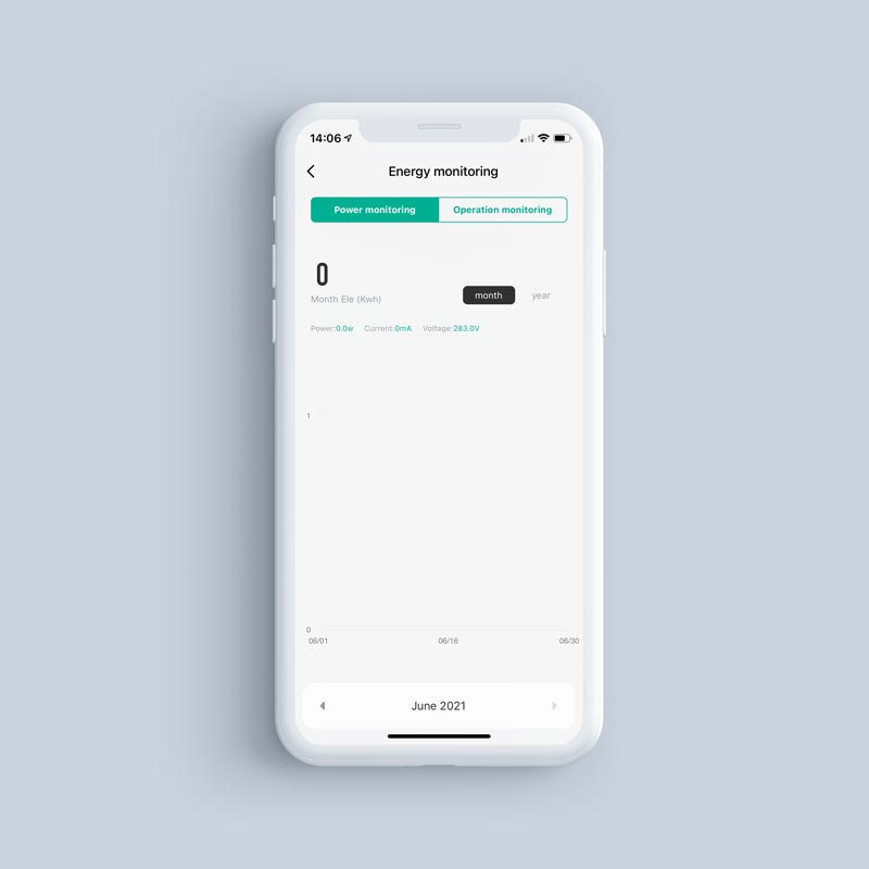 ZignitoPLug App EnergyMonitoring